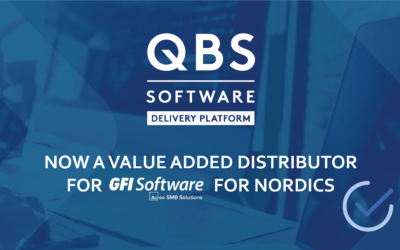 QBS International – an official VAD for GFI Software for Nordics Region
