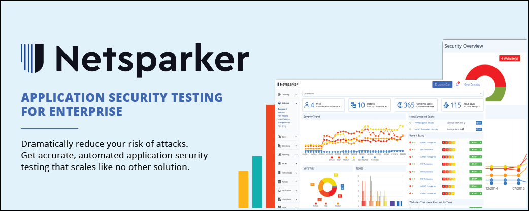 NETSPARKER – a leading web application vulnerability scanning solution
